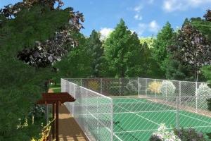 Proiect gradina - parc privat